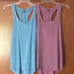 2 Mossimo women's racerback tank tops Small